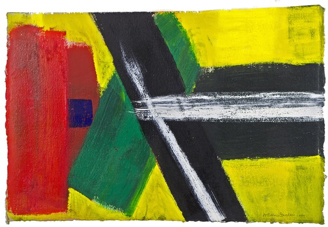 Wilhelmina Barns-Graham, 'Scorpio Series 3 (PA2)', 1997, Painting, Acrylic on paper, Waterhouse & Dodd