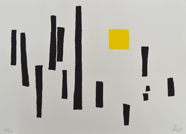 , 'Torres y cuadrado,' 1989, Galería La Caja Negra