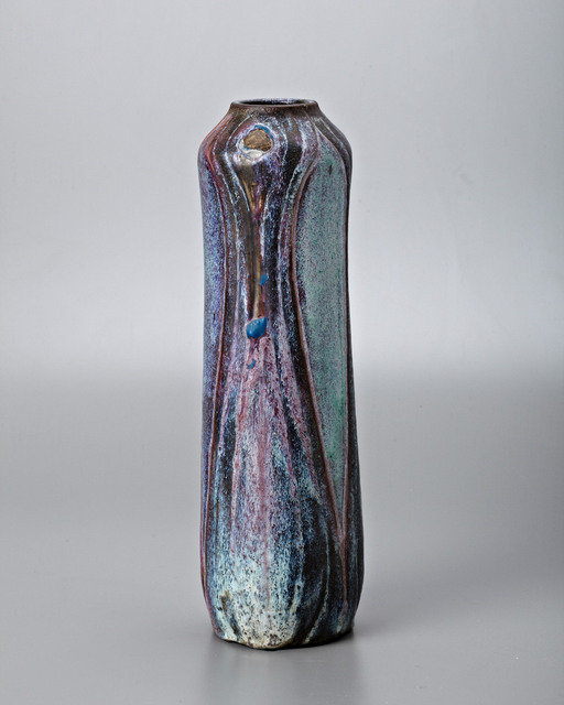 Raoul Lachenal, 'Peacock Vase', 1904, Jason Jacques Gallery