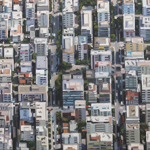 , 'Stadtbild 7/VIII (Athen),' 2015, Galerie Boisseree