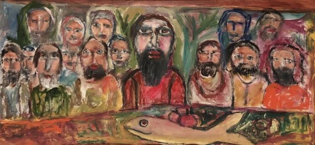 Tasaduq Sohail, 'Last Super', 2014, Painting, Oil on canvas, Eye For Art Houston