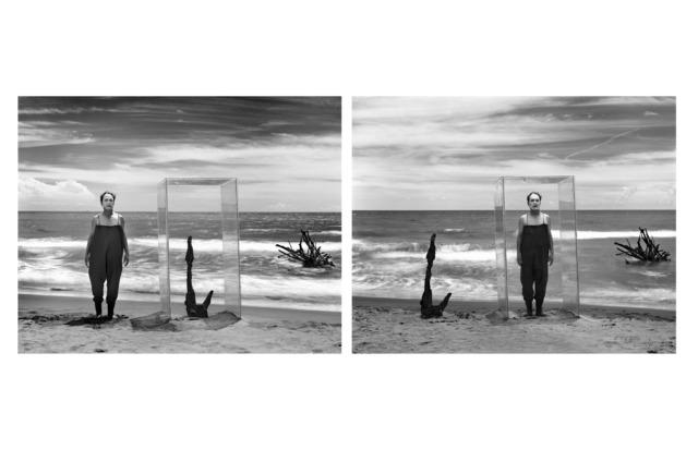 , 'Diptych: Imprisonment (Self-portraits) ,' 2016, Galerie Frédéric Moisan