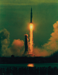 Hiro, 'Apollo 11, 9:32 AM, 7-16-69, Maiden Voyage to the Moon,' 1969, Phillips: The Odyssey of Collecting