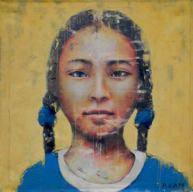 Fernando Adam, 'Zhen', 2019, Painting, Acrylic on canvas, Galeria Jordi Barnadas
