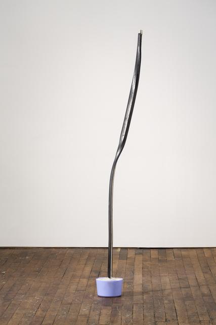 Eric Hattan, 'New York Max', 2019, Sculpture, Metal, concrete, and plastic, Peter Freeman, Inc.