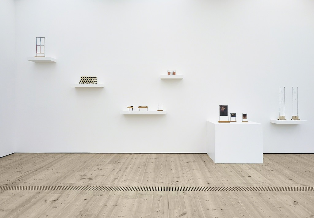 "Installation view of ""B. Wurtz Selected Works 1970-2015."" Foto: John McKenzie © BALTIC Centre for Contemporary Art"