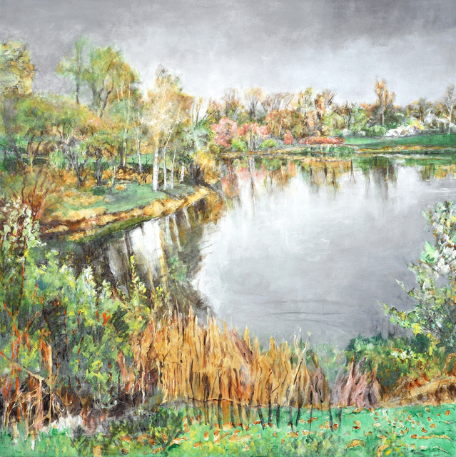 , 'April Blossoms (AC-014-97),' 1997, Han Art