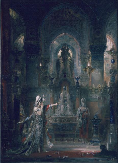 Gustave Moreau, 'Salome Dancing Before Herod', 1876, Hammer Museum