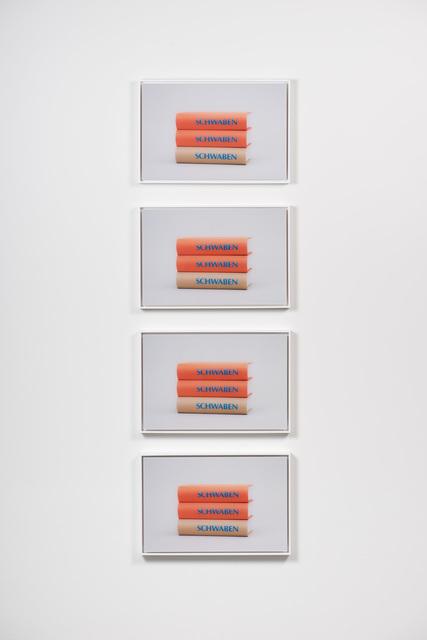 , 'Shwaben (Stack),' 2017, Moskowitz Bayse