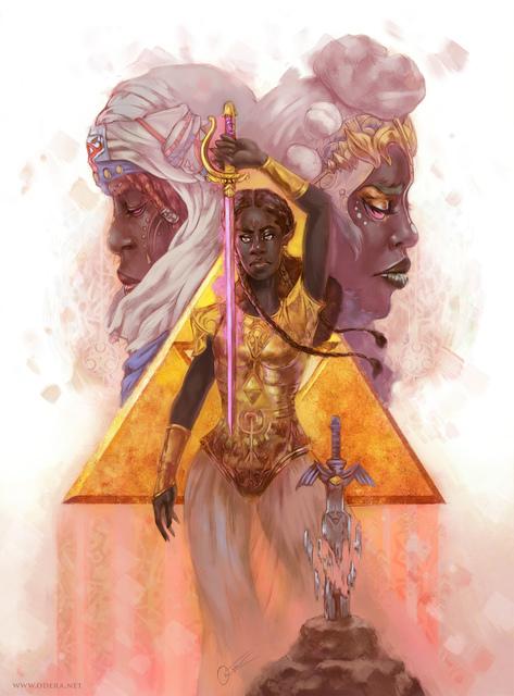 Odera Igbokwe, 'Zelda', Helikon Gallery & Studios