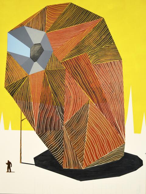 , 'Habitat 1,' 2014, Newzones