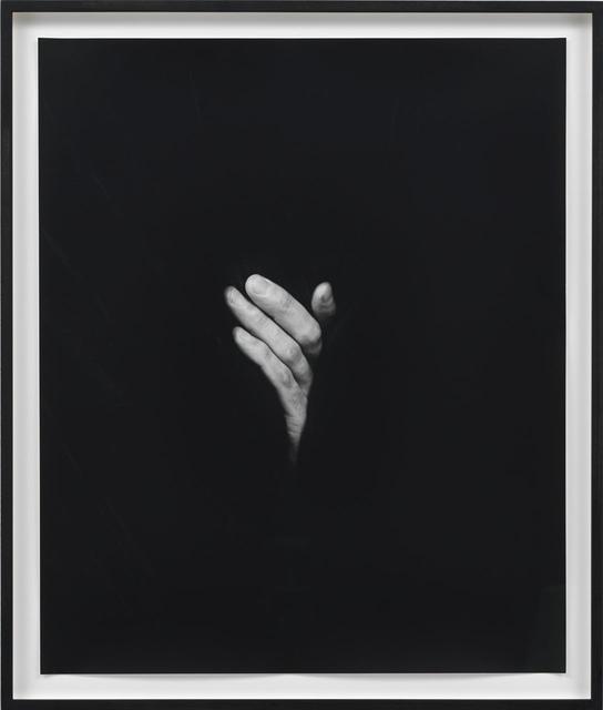 , 'Hand on Body (Crotch #2),' 2012, kaufmann repetto