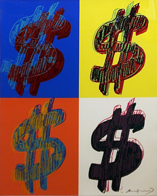 Andy Warhol, '$ (QUANDRANT) FS II.283-284 (PORTFOLIO OF 2)', 1982, Marcel Katz Art