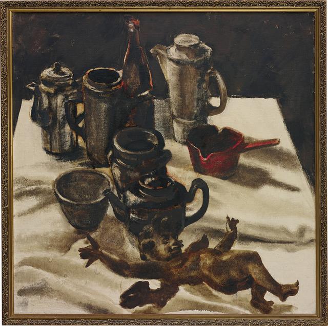 Ahmed Moustafa, 'Still Life with Cherub', 1974, Phillips