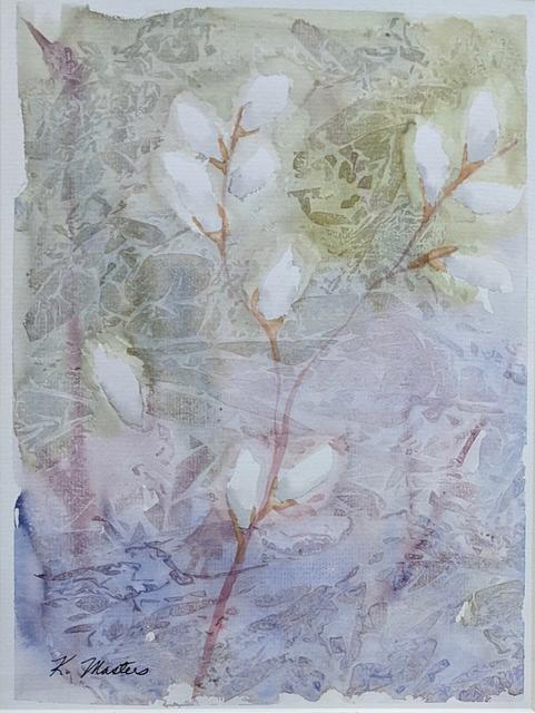 , 'Catkins I,' 2019, Emerge Gallery NY
