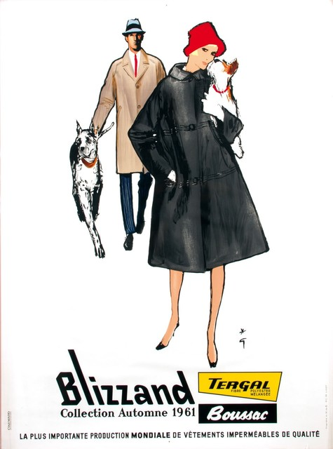 René Gruau, 'BLIZZAND COLLECTION AUTOMNE 1961', 1961, Cambi