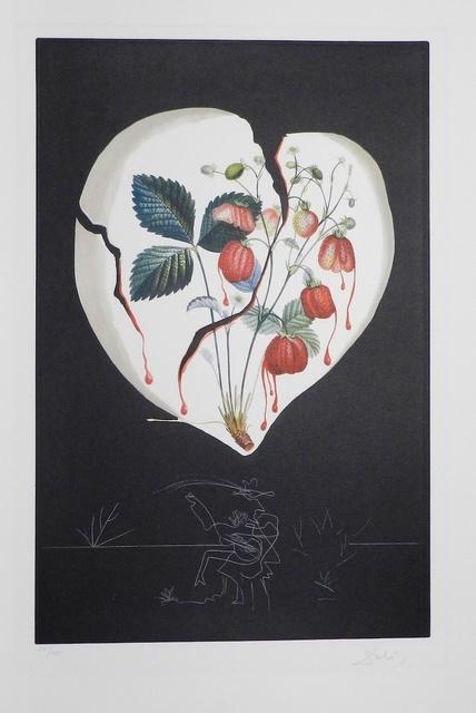 Salvador Dalí, 'Fruits Strawberries', 1970, Print, Etching, Fine Art Acquisitions Dali
