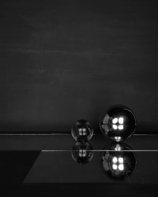 , 'Cabinet (V) (Two Spheres),' 2014, Maureen Paley