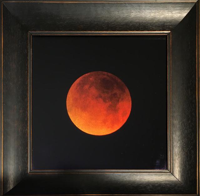kate breakey lunar eclipse january 2018 tucson az blood moon available for sale artsy artsy