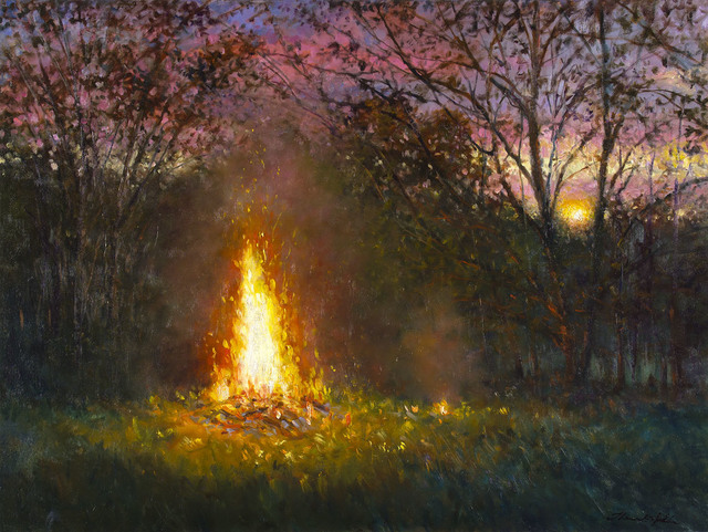 , 'FIRE AT SUNSET,' 2011, Jerald Melberg Gallery