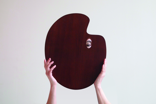 , 'Les yeux derrière la tête,' 2011, Alberta Pane