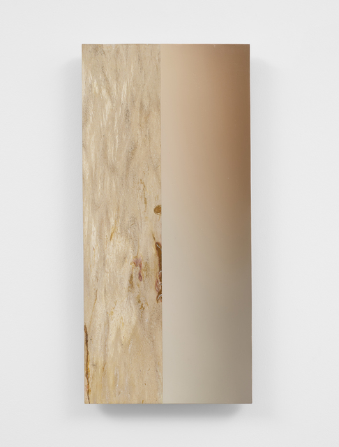 Pieter Vermeersch, 'Untitled', 2020, Painting, Oil on petrified wood, Galerie Greta Meert