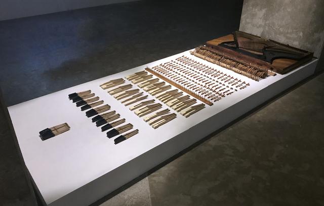 , 'Arsenal,' 2017, Galerie Tanit