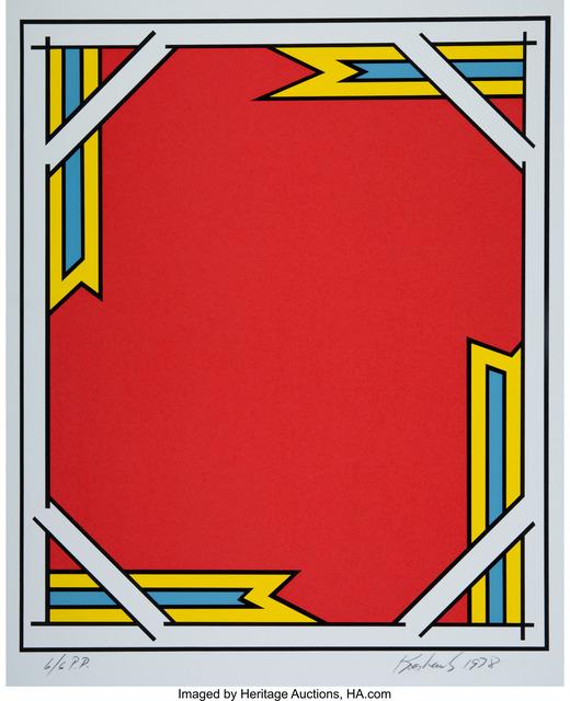 Nicholas Krushenick, 'Return of the Phantom', 1978, Heritage Auctions