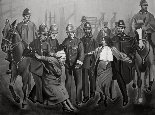 , 'Arrested for Equality, An Ode to The Suffragettes,' 2017, The Untitled Space