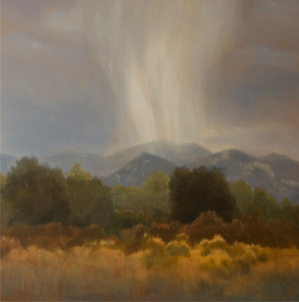 , 'Rainstorm Over Seco,' 2018, Wally Workman Gallery