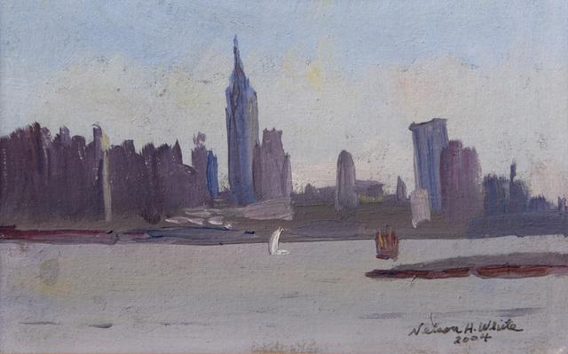 , 'New York Sky Line,' 2004, Grenning Gallery