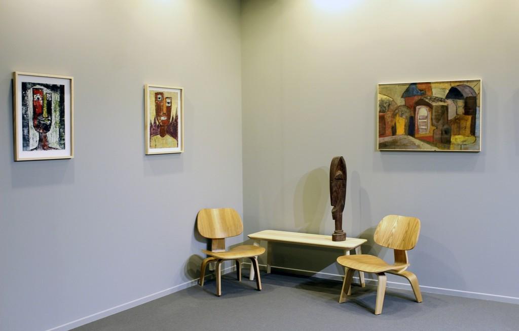 Installation shot:  Ben Osawe & Muraina Oyelami Art Dubai Modern 2017