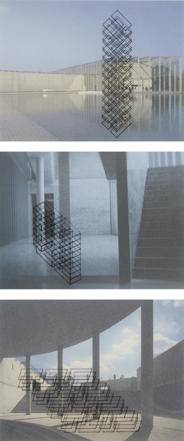 Ronald Moran, 'Three works: Untitled (from the series 'Diálogo inmaterial en un espacio de Tadao Ando')', Phillips