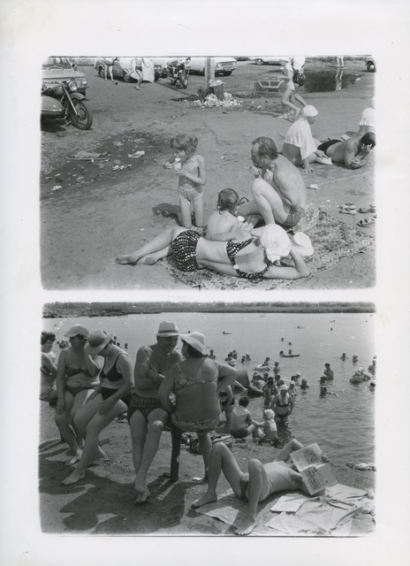 , 'Untitled from the series 'Salt lake',' 1986, Suzanne Tarasieve