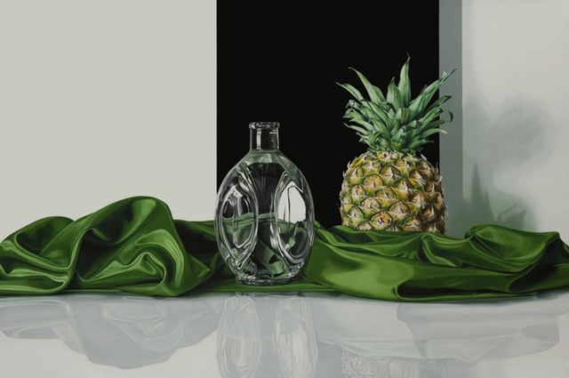 Elena Molinari, 'Pineapple', 2015, Painting, Oil on canvas, Plus One Gallery