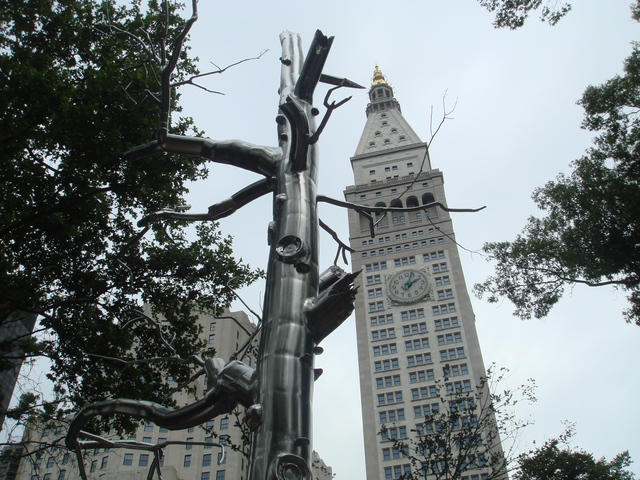 , 'Defunct,' 2004, Madison Square Park