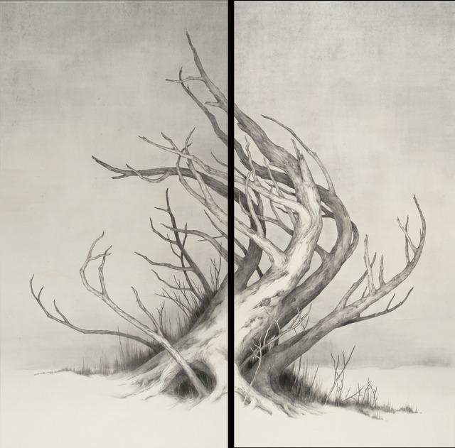 , 'Landscape of a desolate field,' 2016, Kamiya Art