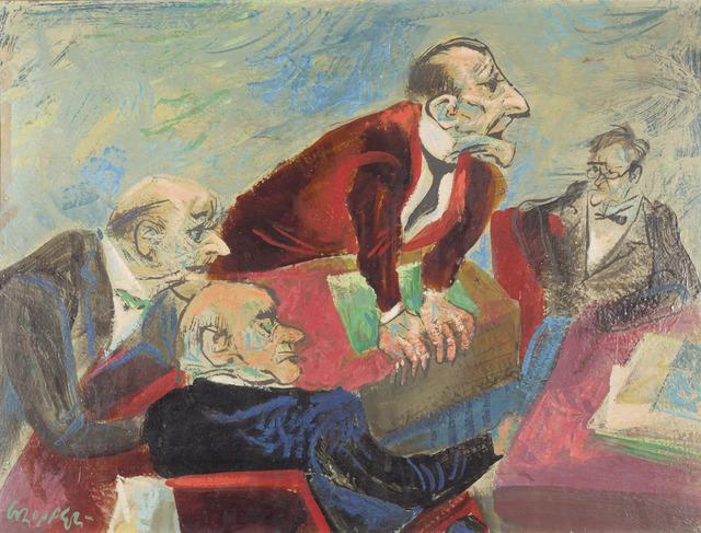 William Victor Gropper, 'The Speaker,' , ACA Galleries