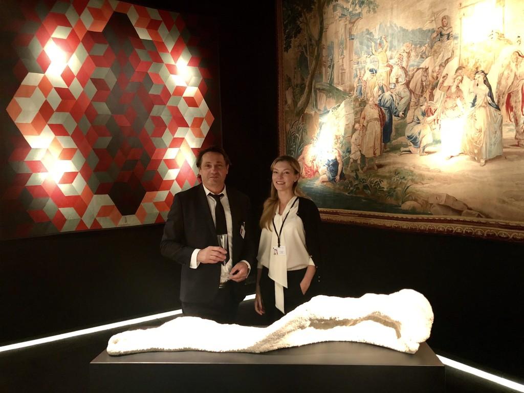 BOCCARA FINE ART: Didier Marien (Galerie Baccara) and Liubov Belousova - Marien (BOCCARA ART) at MASTERPIECE London, booth B36