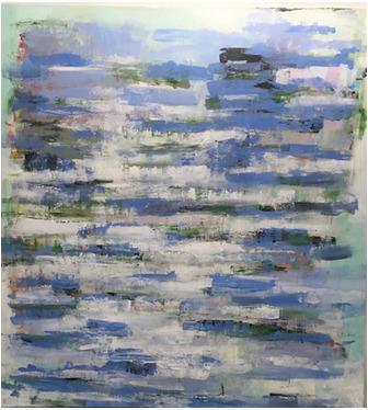 , 'Waterlily-Pond,' 2019, Vivid Art Gallery