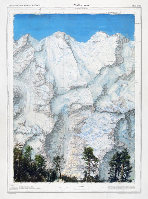 , 'Matterhorn,' 2011, MARCdePUECHREDON