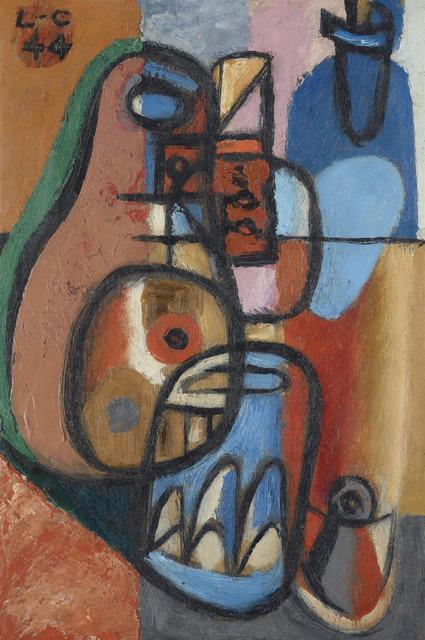 , 'Bouteilles et verres,' 1944, MARUANI MERCIER GALLERY