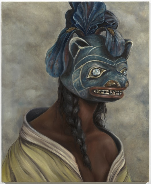 Miss Van, 'Pale Moonlight Muse I ', 2021, Painting, Oil on Canvas, Dorothy Circus Gallery