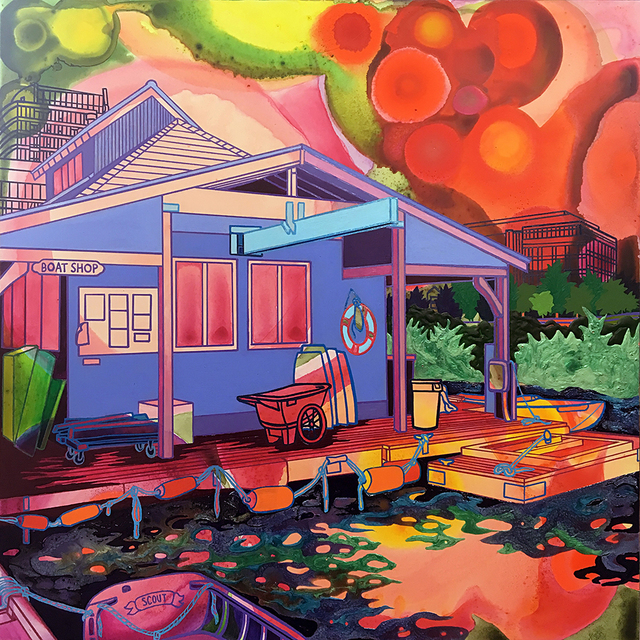 , 'Boat Shop,' 2019, Linda Hodges Gallery