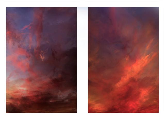 , 'Red (Diptych),' 2018, Winston Wächter Fine Art
