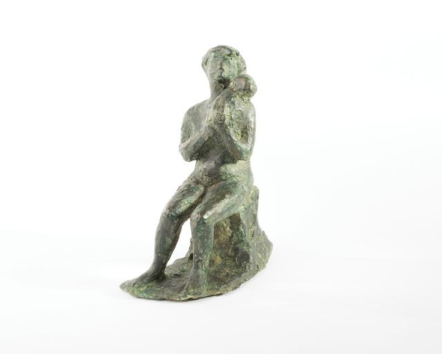 Ivor Abrahams, 'Mother and Child', 1953, Sculpture, Bronze, The Mayor Gallery