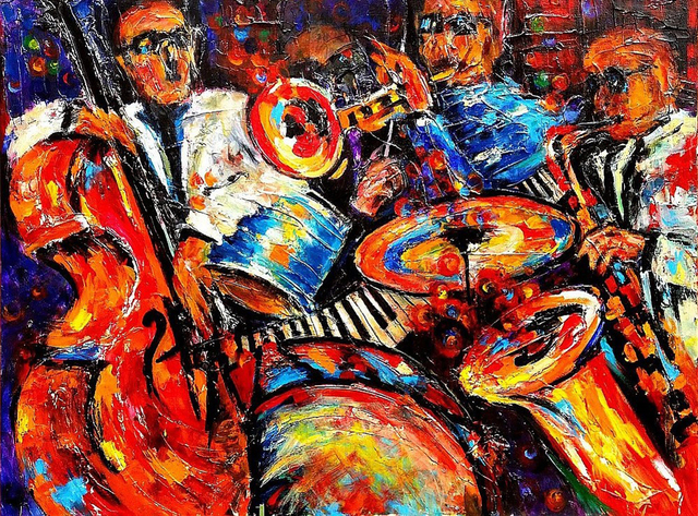 """, 'All That Jazz. Series """"Jazz & The City"""",' 2015, Light Space & Time"""