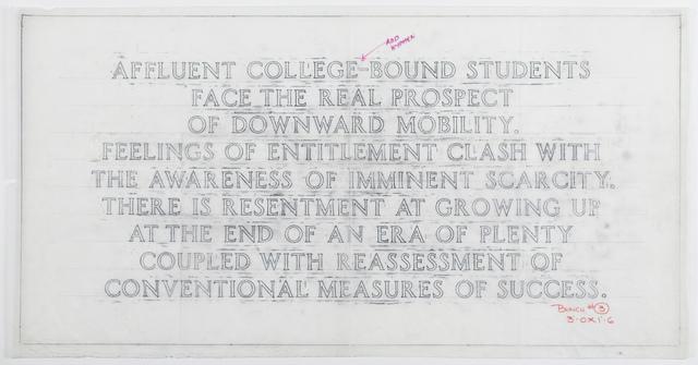 , 'Living: Affluent college-bound students…,' 1998, Guggenheim Museum Bilbao