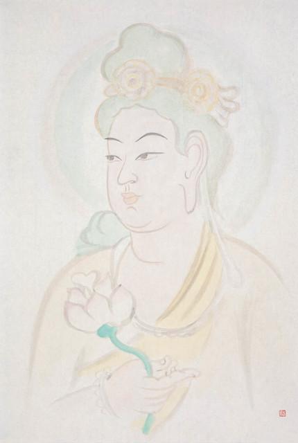 , '菩萨,' 2014, MEBO Culture