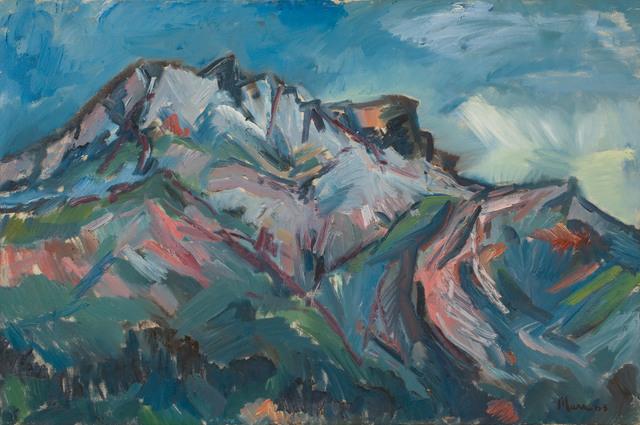 , 'Mont St Victoire (I),' 1963, Piano Nobile